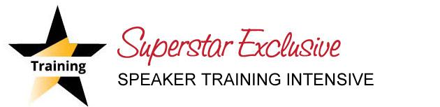 Speaker Training Intensive