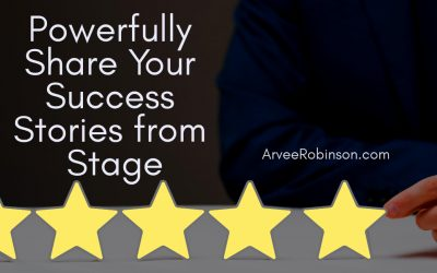 How To Tell A Success Story from Stage