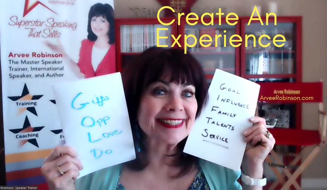Create an Experience for Your Audience – Non-Negotiable #5